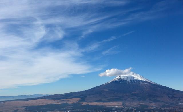 3.金時山を登って富士山を拝む