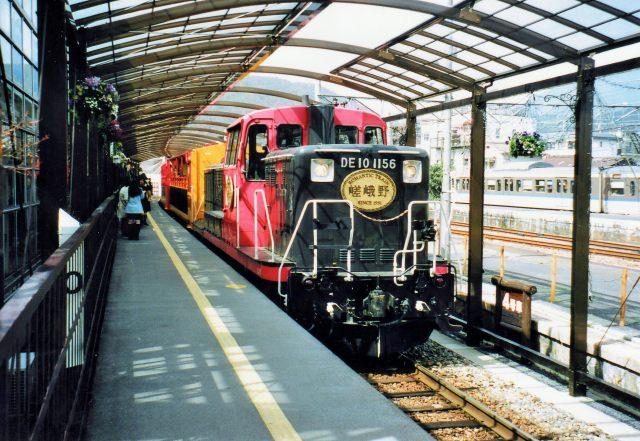 ①トロッコ列車に乗ろう