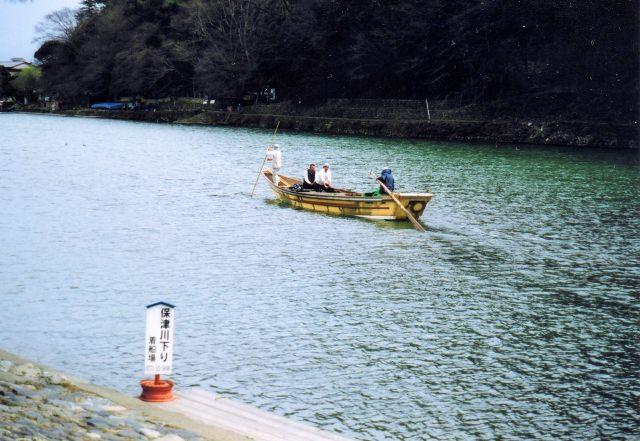 ③いよいよ日本一長い川下り。保津川下りでさらに自然を身近に。