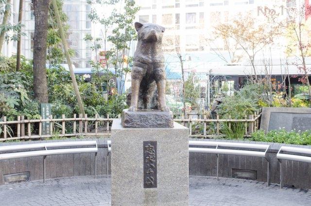 2. 写真撮影の名所「渋谷ハチ公」