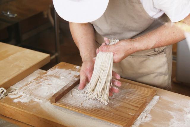 蕎麦打ち体験「江戸東京蕎麦の会」