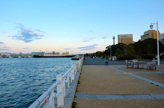1. 横浜の美しい景色が人気の「山下公園」