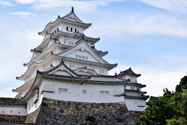5. 日本初の世界文化遺産となった「姫路城」