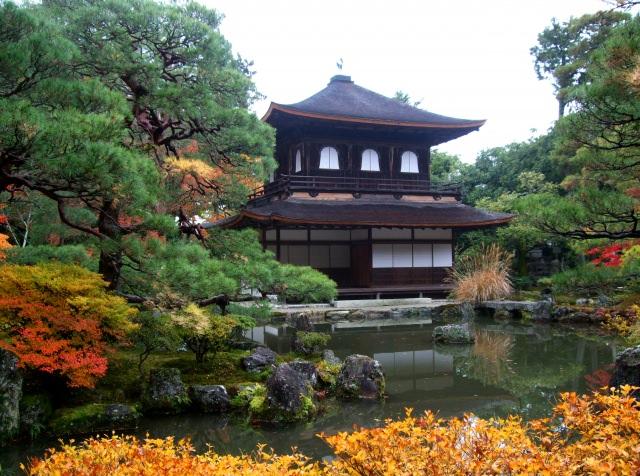 4. 侘び寂びの日本文化の代名詞「銀閣寺」