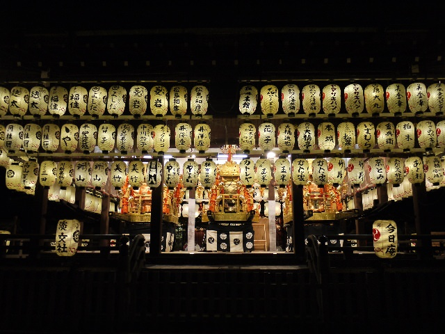 祇園祭(7月14〜17日)