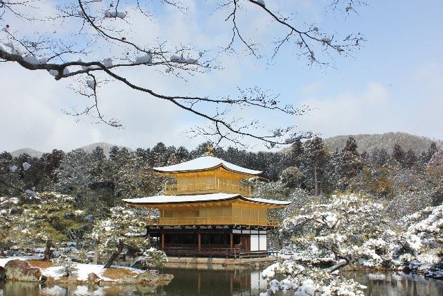 ちょっとツウな金閣寺。雪が降った朝に行こう