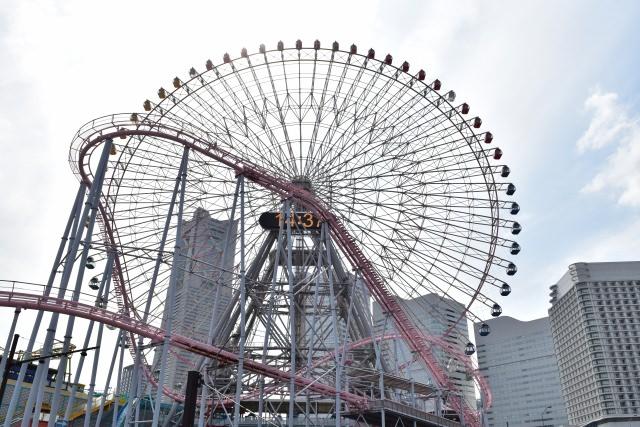 5. 横浜を象徴する大観覧車が有名な「コスモワールド」