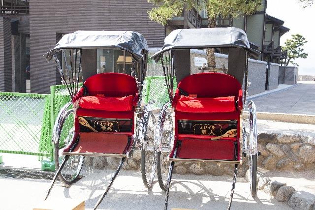 9.人力車で街並み散歩する