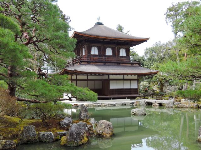 【第7位】 日本の侘び寂びの原点でもある「銀閣寺」