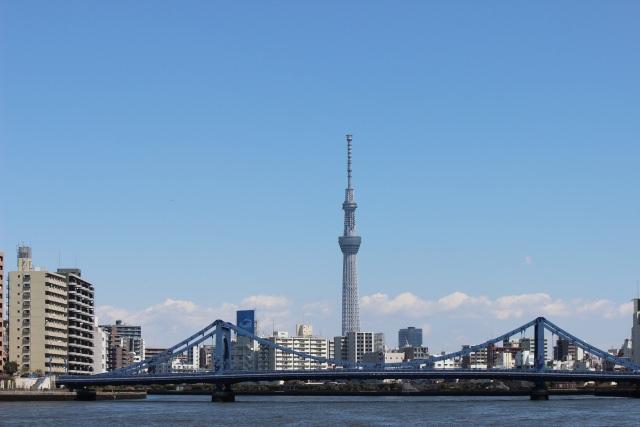 1. 世界一高いタワーから都会の街を一望する「東京スカイツリー」