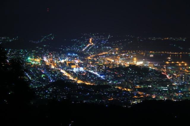 4. 小樽の絶景の夜景を見るなら「毛無山展望所」