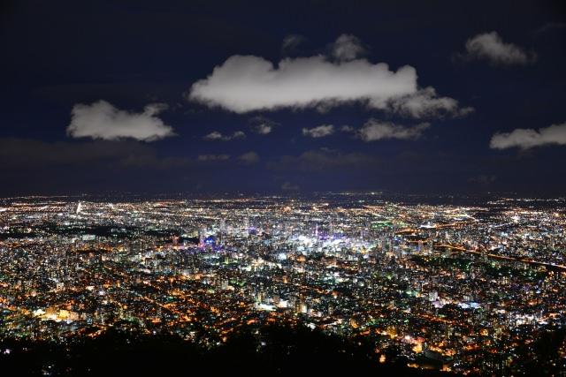 2. 北海道三大夜景のひとつでもある「札幌藻岩山展望台」