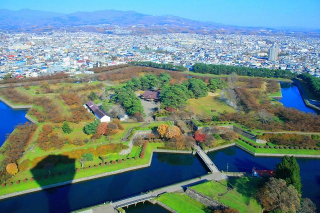 4. 北海道が誇る星型のシンボル「五稜郭」