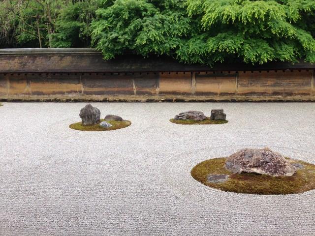【第3位】 美しい日本庭園で禅の境地を体感する「龍安寺」