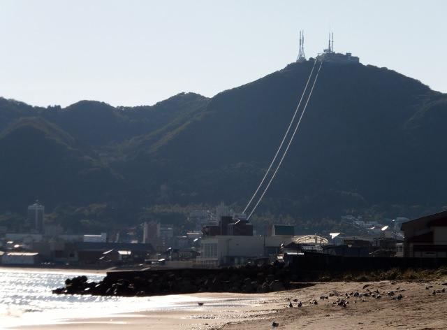 函館山の登山の定番は「ロープウェイ」