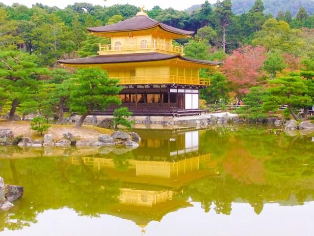 【第2位】 黄金に輝く楼閣は京都の代名詞「金閣寺」