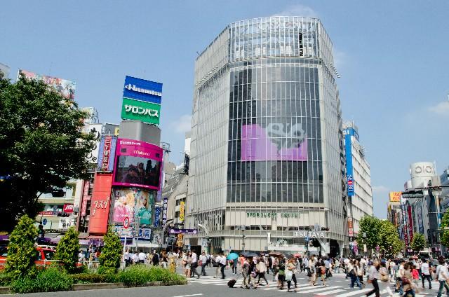 6. 渋谷といえばやっぱりこれ!「スクランブル交差点」