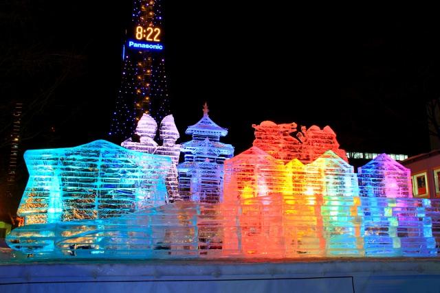 3. 一大イベントの雪まつりが開催される「大通公園」