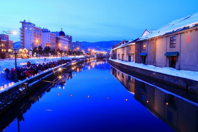 2. ノスタルジックな街の風景に癒される「小樽運河」