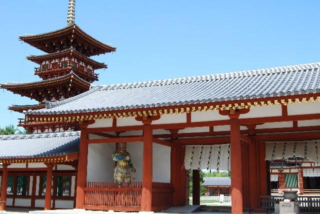 3. 世界遺産として有名な「薬師寺」
