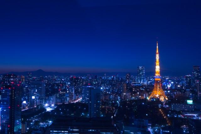 東京タワーの夜景はとても美しい!