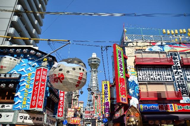 5. 大阪らしい下町が味わえる「新世界」と「通天閣」