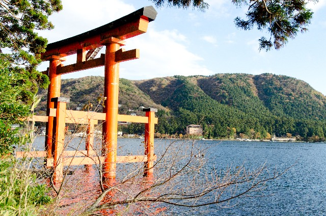 5. 神奈川県有数のパワースポット!「箱根神社」