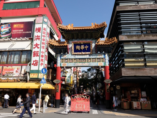 8. 人気観光スポットとして全国的に有名な「横浜中華街」