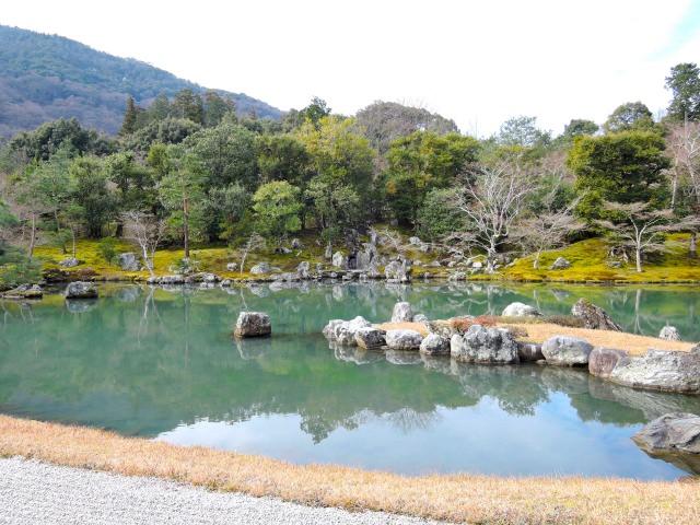 9. 美しい庭園に心が洗われる。世界遺産の「天龍寺」