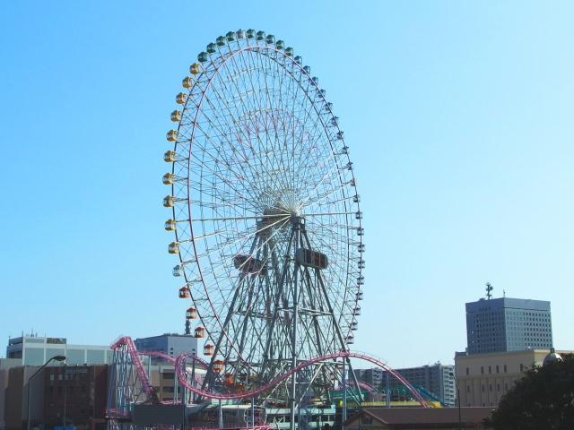 4. 横浜の遊園地と言えばここ!「よこはまコスモワールド」