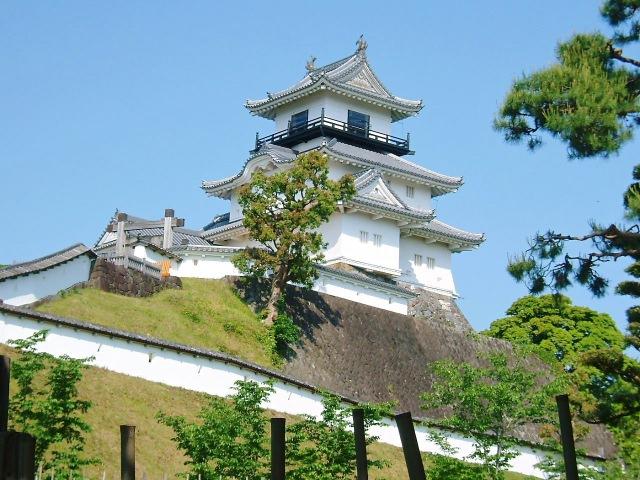 8. 東海の名城で美しい写真を撮りましょう!「掛川城」