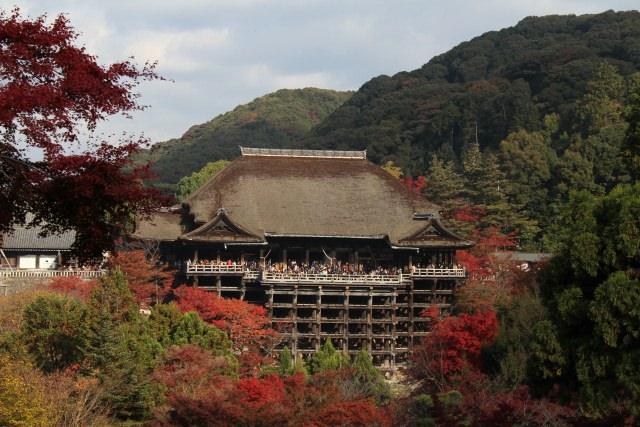 1. 京都の紅葉スポットといえば!「清水寺」