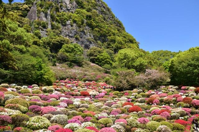 1. 佐賀県の自然溢れる観光スポット!「御船山楽園」