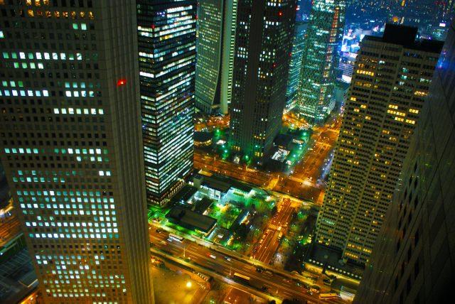 6. 東京の町を一望できる!遅くまでやっているので夕方からでも間に合う!「東京都庁」