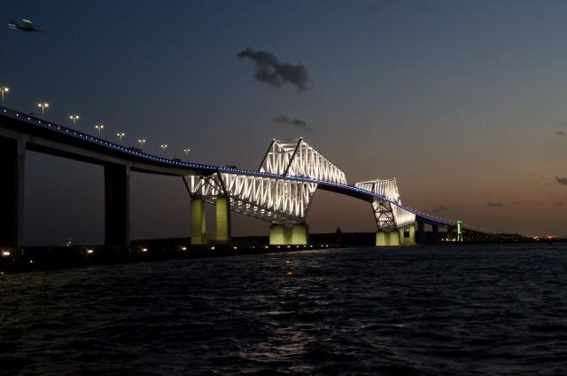 9. Tokyo gate bridge