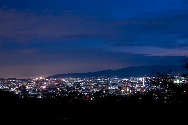 1. 超王道!京都で夜景に行くならまずはココ「将軍塚青龍殿」