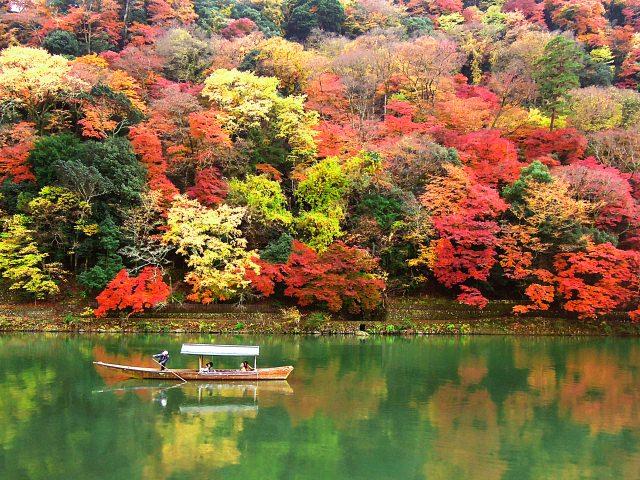 2. 関西紅葉の名所!京都の人気エリア「嵐山」