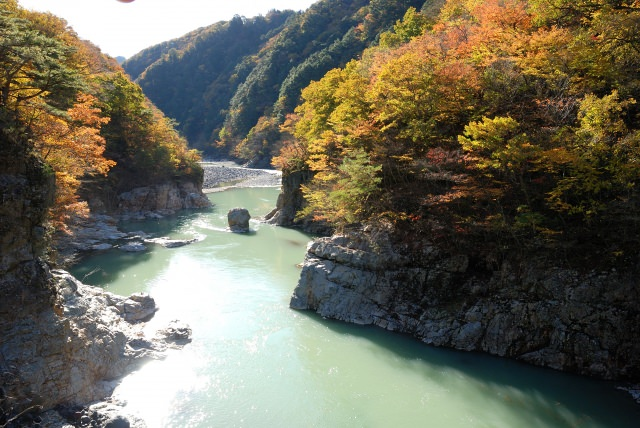 9. You can feel Mother Nature in the Kinugawa-onsen! The popular sightseeing spot [Ryuo-kyo]