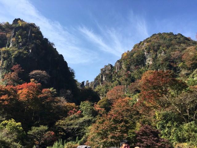 2. 大分県の紅葉スポット!美しい景観とともに「耶馬渓」