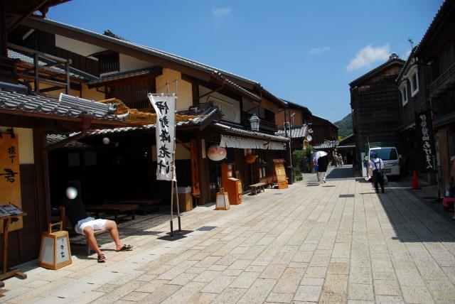 2. 江戸時代の雰囲気を味わうことができる観光スポット「おかげ横丁」