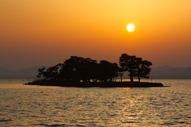 4. 1万年前に形成された美しい湖を楽しむ「宍道湖」