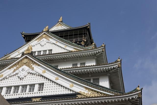 2. 大阪のシンボル!関西観光でぜひとも行ってほしい「大坂城」