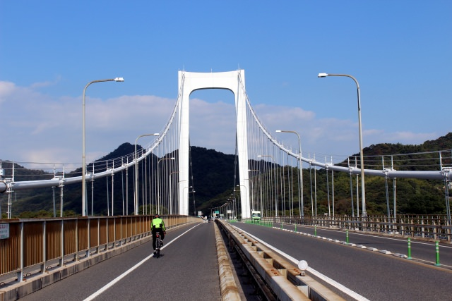 1. Even beginners are welcomed! Enjoy cycling in Onomichi. Shimanami Kaido