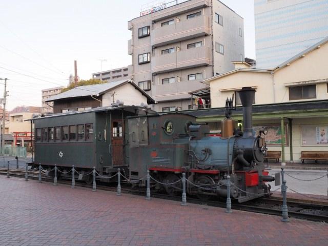 10. 松山市内を巡る観光ならこれを利用しよう!「坊ちゃん列車」