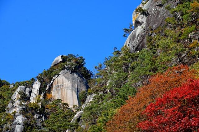 3. 甲府の大地のパワーを感じる観光スポット「昇仙峡」