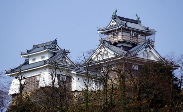 8. 福井観光の定番!天空の城「越前大野城」