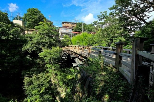 8. 日本の四季を感じられる日本三奇橋のひとつ!「猿橋」