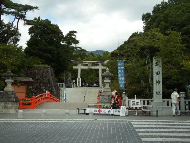 3. 勝運のご利益を授かれる山梨のパワースポット!「武田神社」
