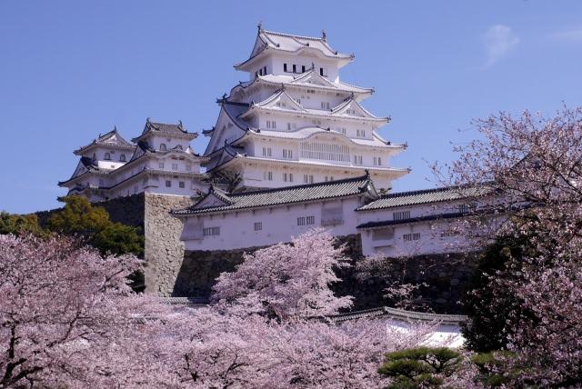 10. 関西でも有名な観光スポット!兵庫の地にある「姫路城」