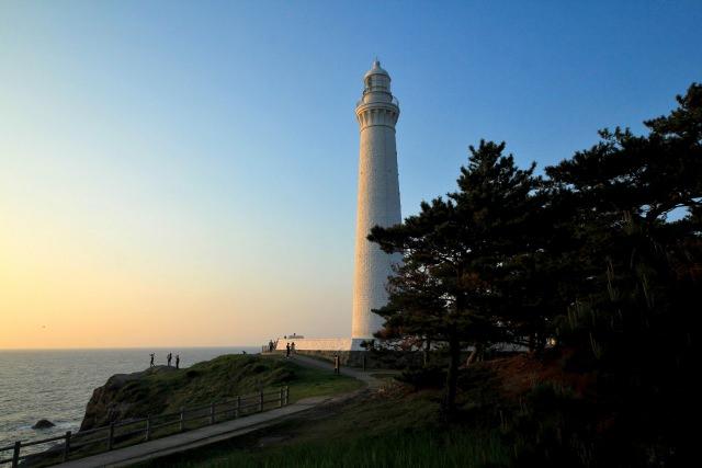 9. 島根半島、最西端の灯台!「出雲日御碕灯台」